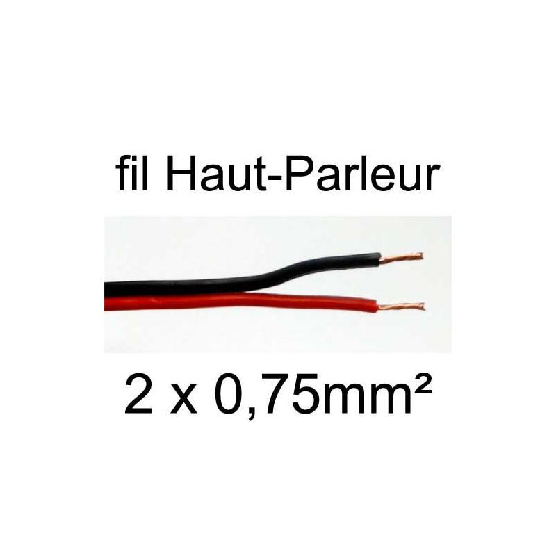 Câble hifi pour haut-parleur