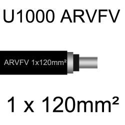 câble électrique armé aluminium ARVFV 1 conducteur 120mm²