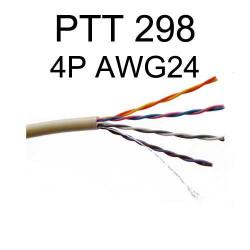 Câble téléphonique PTT 298