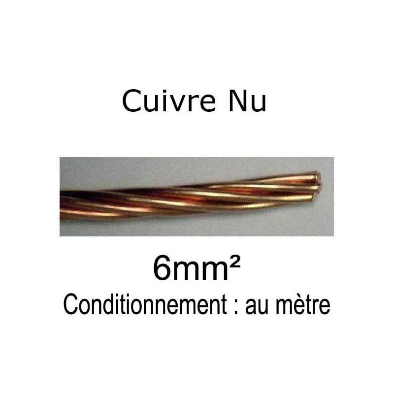 Câble cuivre nu - 6 à 95mm²