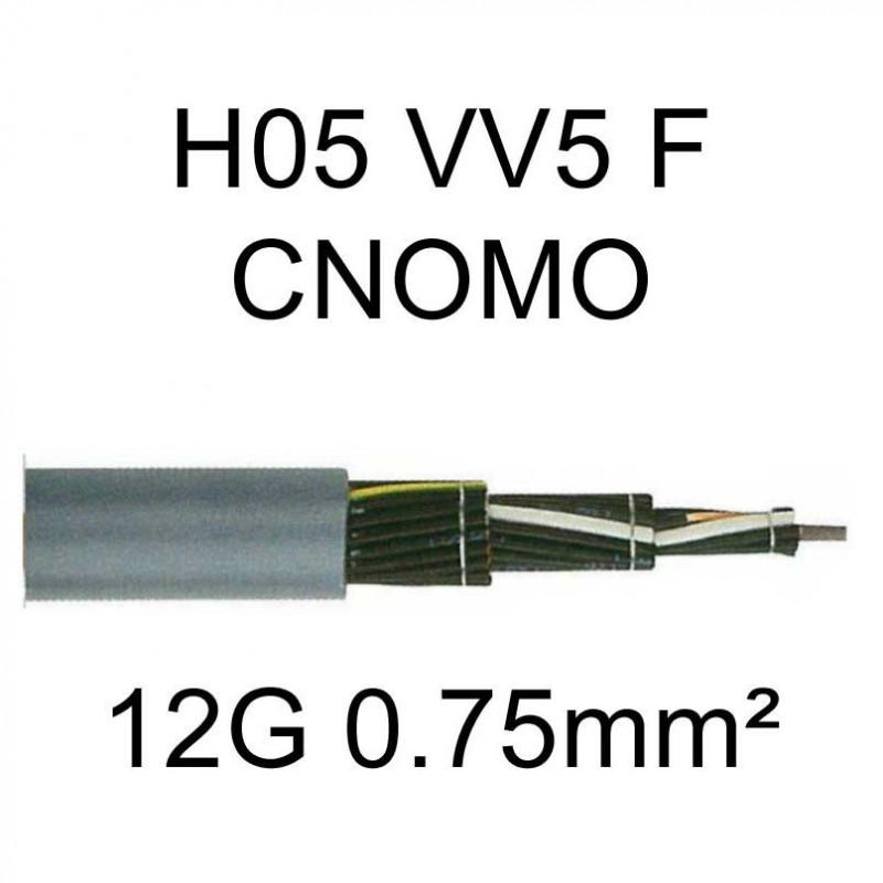 Câble électrique H05VV5F CNOMO