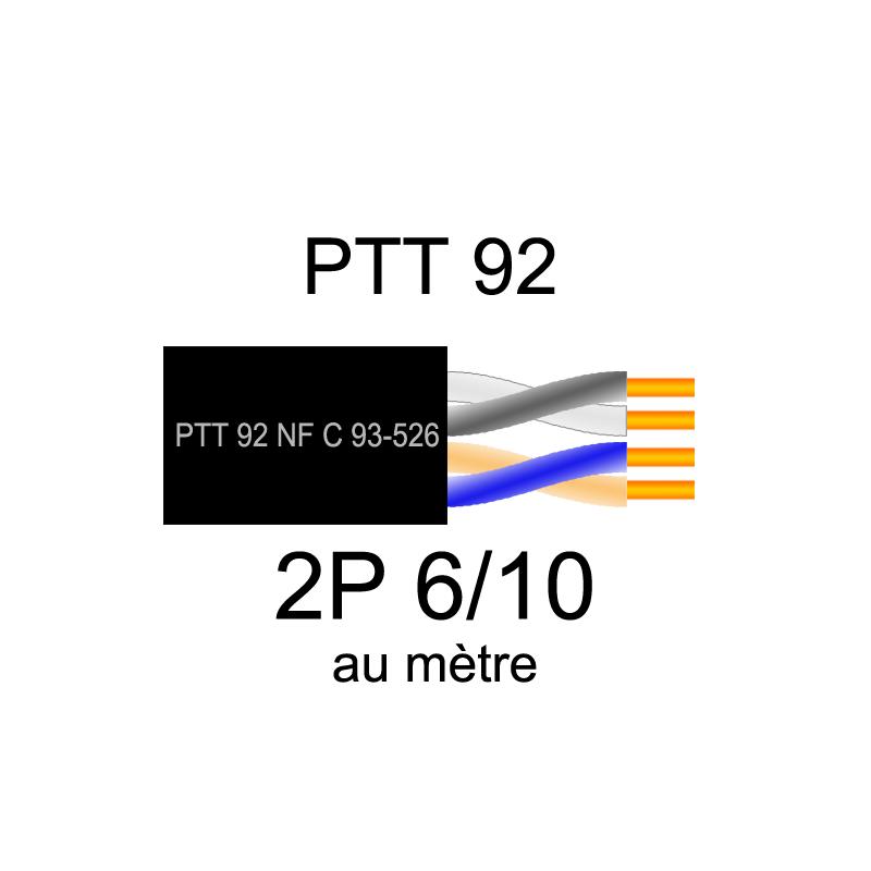 Câble téléphonique PTT 92
