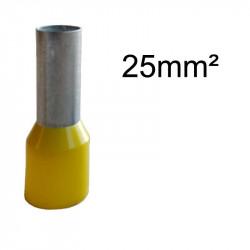 embout de câblage 25mm²