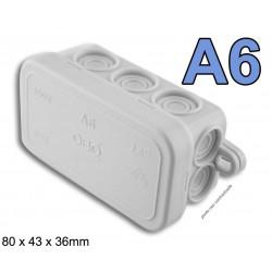 boite électrique rectangulaire modèle A6