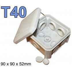 boite électrique carrée modèle T40