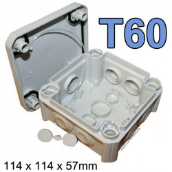 boite électrique carrée modèle T60