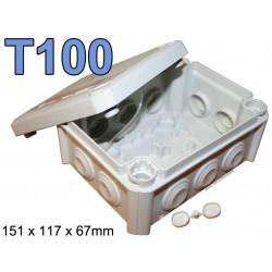 boite électrique rectangulaire modèle T100