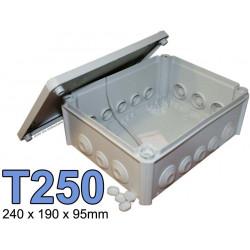 boite électrique rectangulaire modèle T250