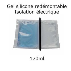 pochette de gel silicone étanche bi composant 170ml