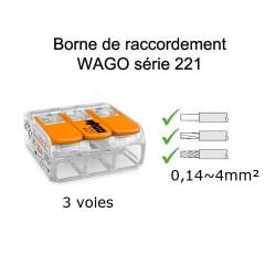 wago 3 voies référence 221-413