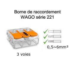 wago 3 voies référence 221-613