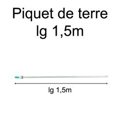 piquet de terre longueur 1,5 mètre