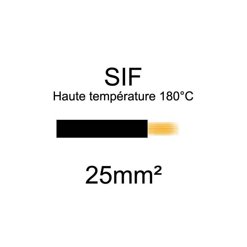 Fil souple haute température type SIF ( ou SIaF )
