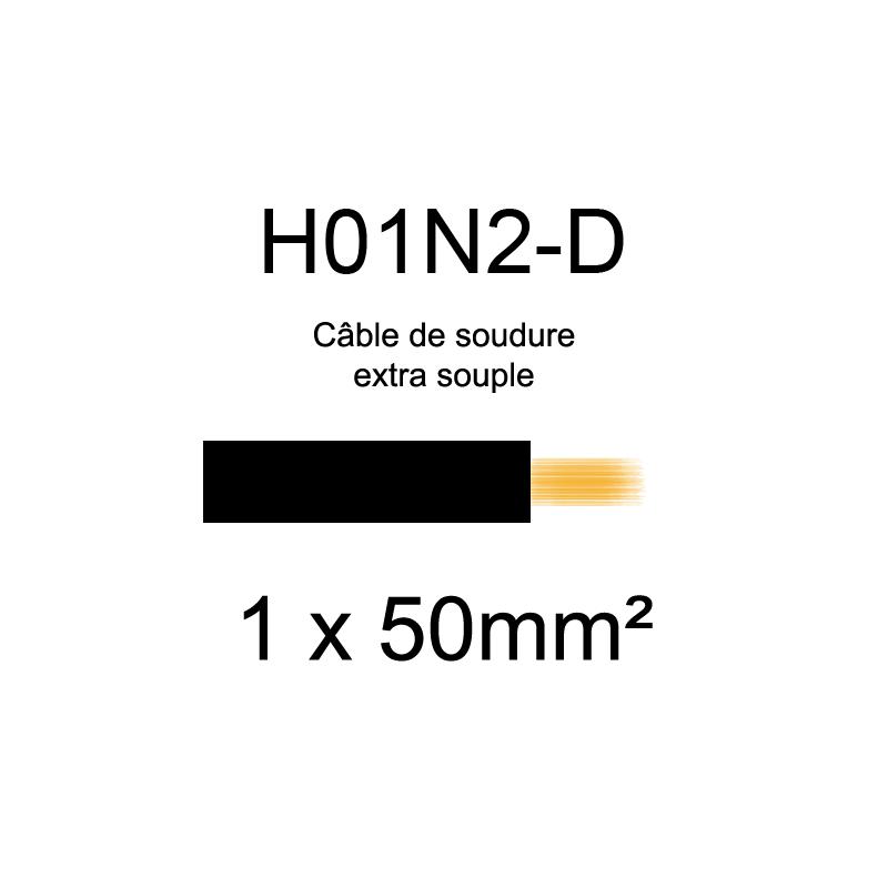 Câble de soudure extra souple H01N2-D