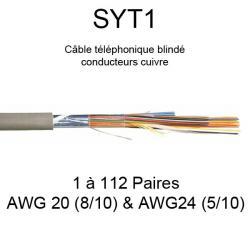 Câble téléphonique SYT1...