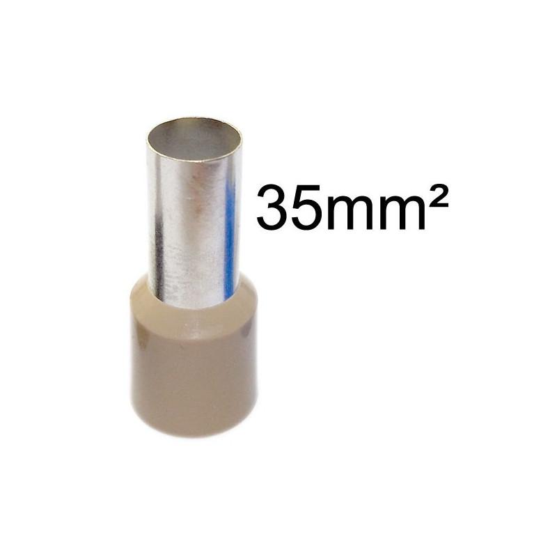 Embout de câblage pour fil et câble souple multibrins