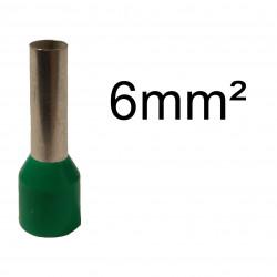 embout de câblage 6mm²