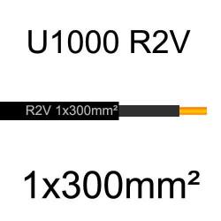 câble électrique cuivre U1000 R2V 1 conducteur de section 300mm²
