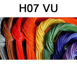 Fil électrique H07VU cuivre...